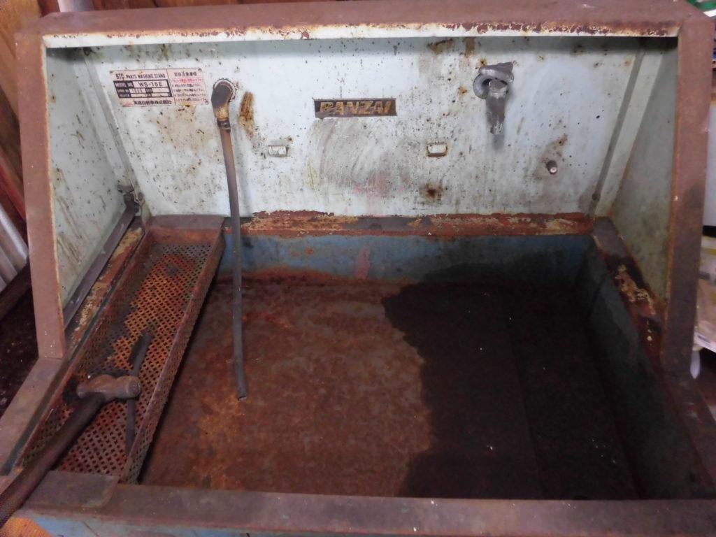 部品洗浄層