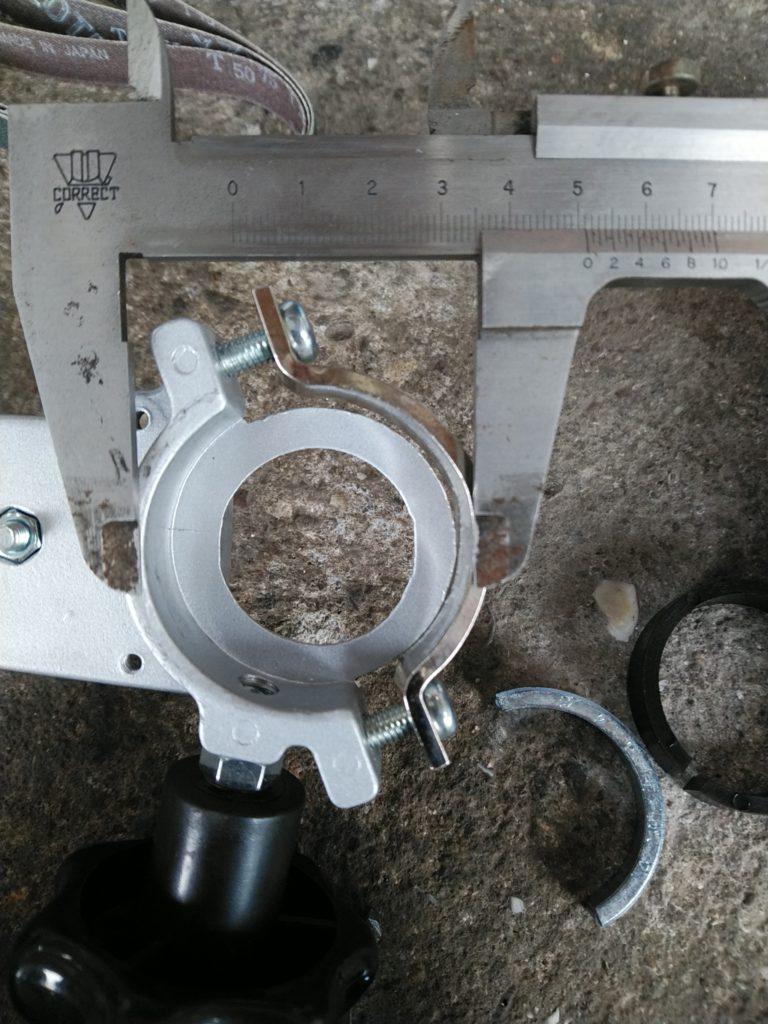 神沢鉄工ベルトサンダー15 K-840 ノギス画像