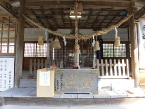 堅来神社初詣