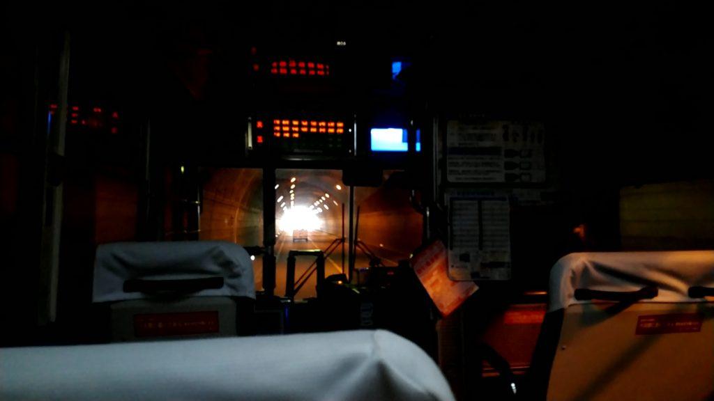 真玉トンネル車窓