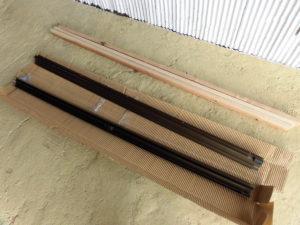 窓修理新品アルミサッシ