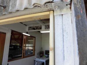 窓修理木枠