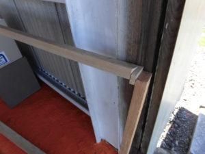 窓修理木枠失敗