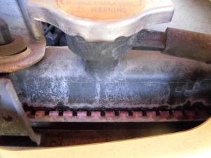 L235Sクーラント漏れ