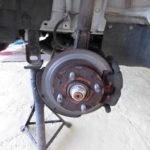 【整備】軽トラ、ブレーキキャリパー固着修理